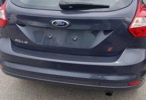 Ford Focus back details